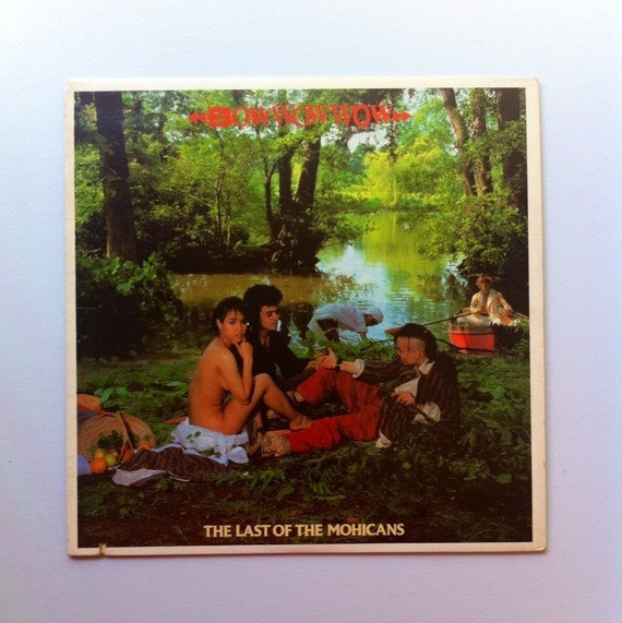 Bow Wow Wow The Last Of The Mohicans Vinyl Record Album Lps