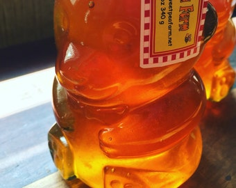 Classic Honey Bear - GLASS!  340 g   12oz