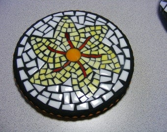 Mosaic Glass Trivet