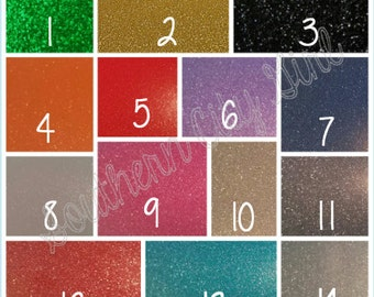Glitter vinyl upgrade for orders ONLY!!! This is NOT a listing for sheets of glitter vinyl!!!