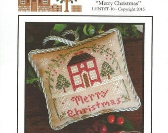"LITTLE HOUSE NEEDLEWORKS ""Merry Christmas"" 