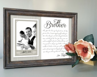 Special Wedding Gift Ideas For Brother : brother wedding gift best friend thank you gift wedding gift for best ...