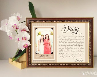 Sister Frame, Bridesmaid, Maid Of Honor, Best Friend, Personalized Picture Frame