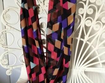 Infinity scarf - triangles