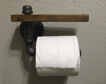 Pipework Toilet Paper Holder