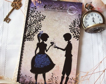 Address book - alphabetic - lovers - notebook - Miss Shadow - Le rendez-vous