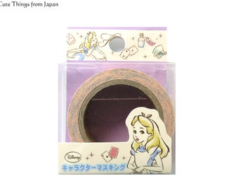 NEW Alice Washi Tape, Masking Tape, Disney, Kawaii, Alice in Wonderland