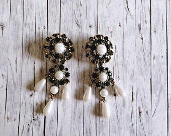 Statement earrings - ethnic style