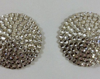 Clear Rhinestone Pasties