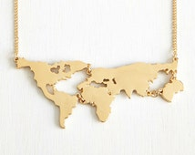 World Map Necklace,Custom Map Necklace,Country Necklace,Bridesmaids Gift,Travel Necklace,State Necklace,Memory Jewelry,Keepsake