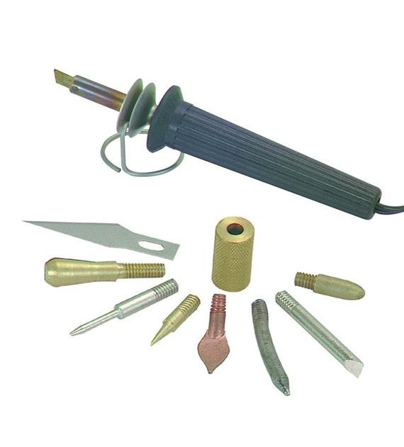 woodburner hot iron soldering hand tool set hobby crafts. Black Bedroom Furniture Sets. Home Design Ideas