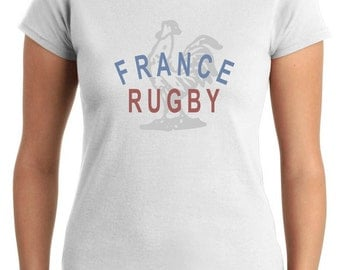 T-shirt Female T0964 france rugby sport