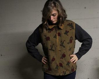 Woolrich Floral Vest