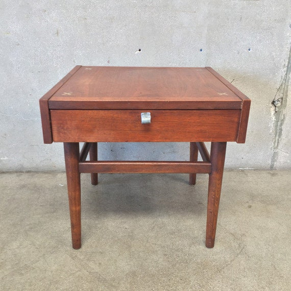 American Of Martinsville Mid Century Coffee Table: American Of Martinsville Mid Century End Table By