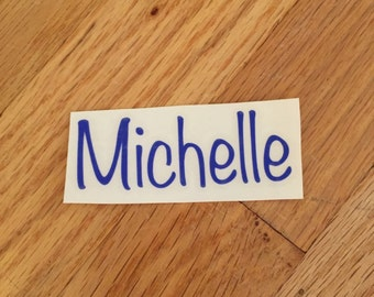 Custom Name Sticker