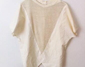 coton blouse M