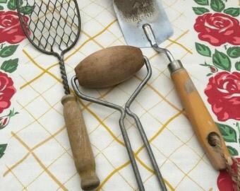 Vintage Kitchen Utensils (Item 08-2-014)