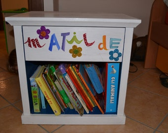Chest of drawers decorated bedroom kids
