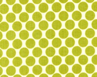 Lime Green Dots from Amy Butler's Lotus Collection by Westminister