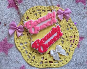 Beauty Queen Dropout Necklaces