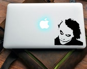 Joker decal for MAC or PC sticker print perfect gift for any computer fan! Why so serious Apple MAC