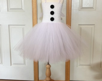 Snowman Tutu/White Tutu/Winter Tutu