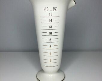 RARE mid-century Owens Illinois apothecary display vase