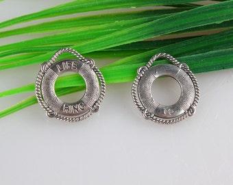 Wholesale 20pcs Antique silver Life ring Charms pendants 22*24mm