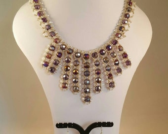Prom Night Necklace & Earring Set