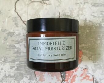 IMMORTELLE Face Cream, Intensive Treatment, All Natural Moisturizer, Face Moisturizer, Organic Face Cream, Helicrhysum Essential Oil