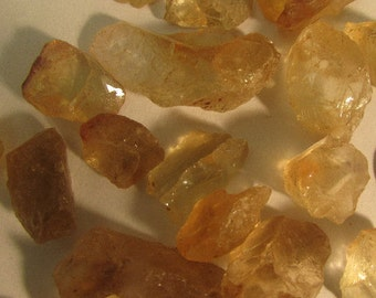 Rough Golden Topaz for a Sunny Dispostion!