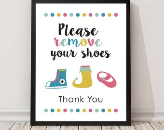 Please remove your shoes sign PRINTABLE art,take shoes off sign,mud room art,shoes off please,remove shoes printable,entry room art,instant
