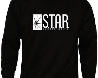 S.T.A.R Laboratories Labs Black Sweater
