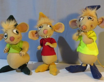 SM Three of a kind Mice by Sharon Mitchell