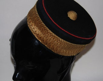 Genuine Vintage Royal Military College Canada Cadet Cap -- Free Shipping
