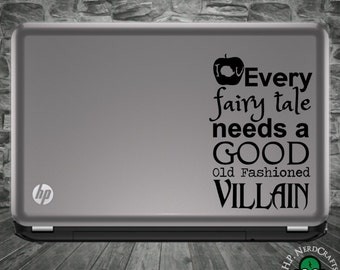 Every Fairy Tale Needs a Good Old Fashioned Villain Decal