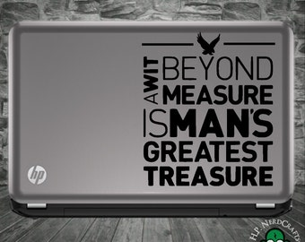 Wit Beyond Measure Decal