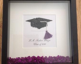 Graduation Cap Framed Print
