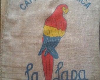10 Burlap Coffee Bags