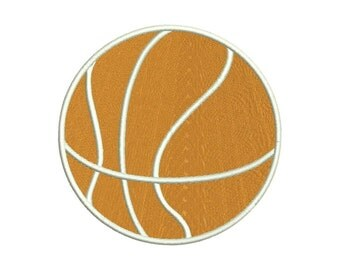 Basketball Machine Embroidery Design 9 Size - INSTANT DOWNLOAD