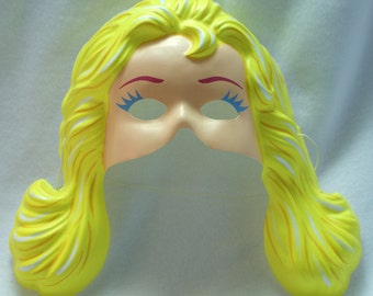 Vintage Costume Magic Barbie Mattel Halloween Mask Doll Birthday Party Y070
