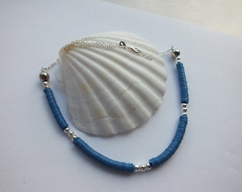 African Vinyl Heishi Necklace