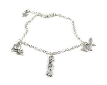 The Little Prince Minimalist Charm Bracelet