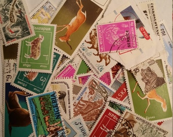 Lot of 40+ World Stamps