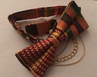 Ankara bow tie