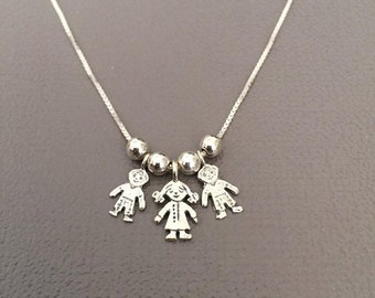 Mothers Necklace / Mommy necklace / Children neckles / My Children Pendant Necklace / Kids Pendant Necklace / gift for mom / mom necklace