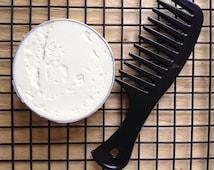 Natural Hair Butter   Whipped Mango Butter    Hair Cream