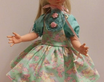 """Turquoise & Pink Spring Fashion for 22"""" Eegee Puppetrina Dolls"""