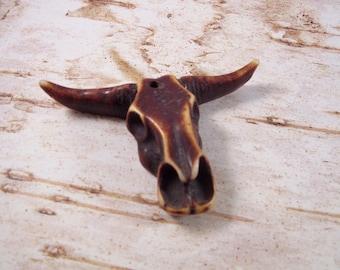 BUNCHA BULL Bull Head Pendant, Steer Head Pendant, Steerhead Pendant, Bullhead Pendant