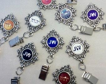 JW Badge Card Holder, Optional plastic card holder